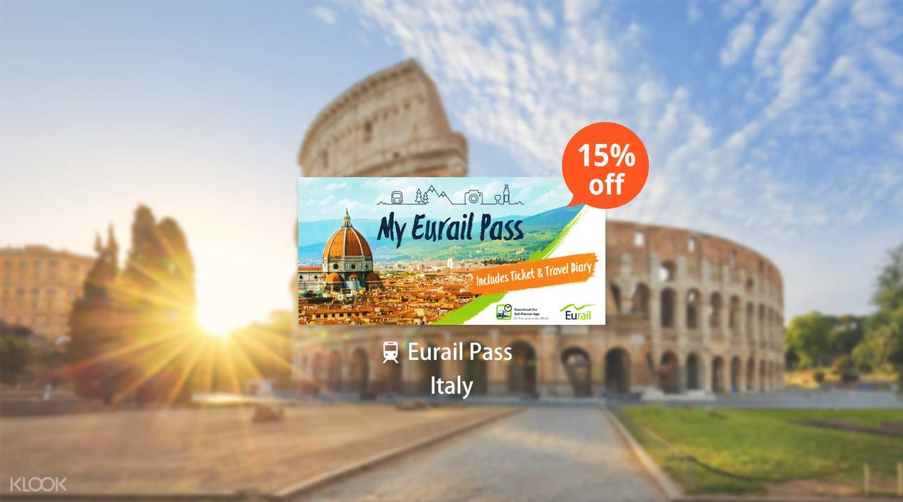 Eurail Pass for Italy (3, 4, 5 or 8 Days)